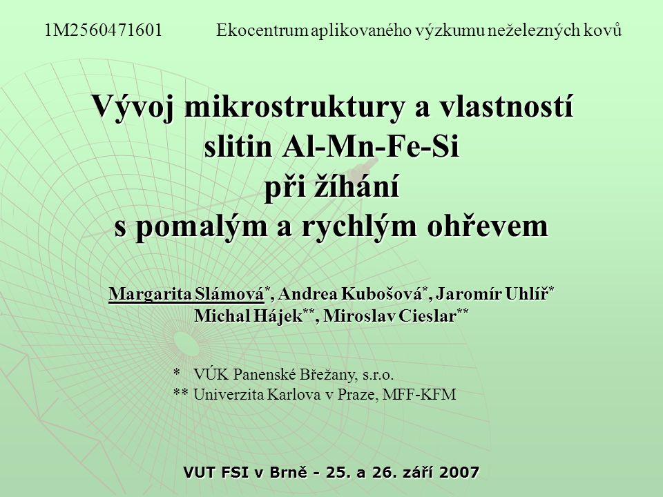 VUT FSI v Brně - 25.a 26.