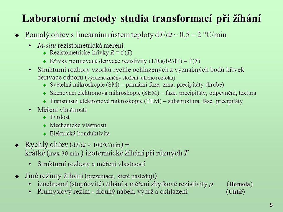 VUT FSI v Brně - 25.a 26. září 2007 29 Vliv obsahu Mn a Si v t.