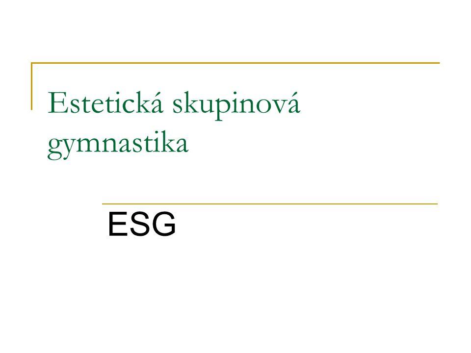 Estetická skupinová gymnastika ESG