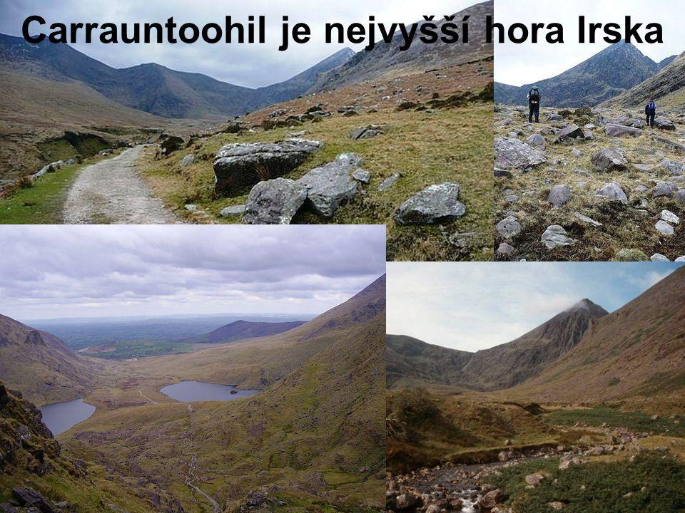 Carrauntoohil je nejvyšší hora Irska