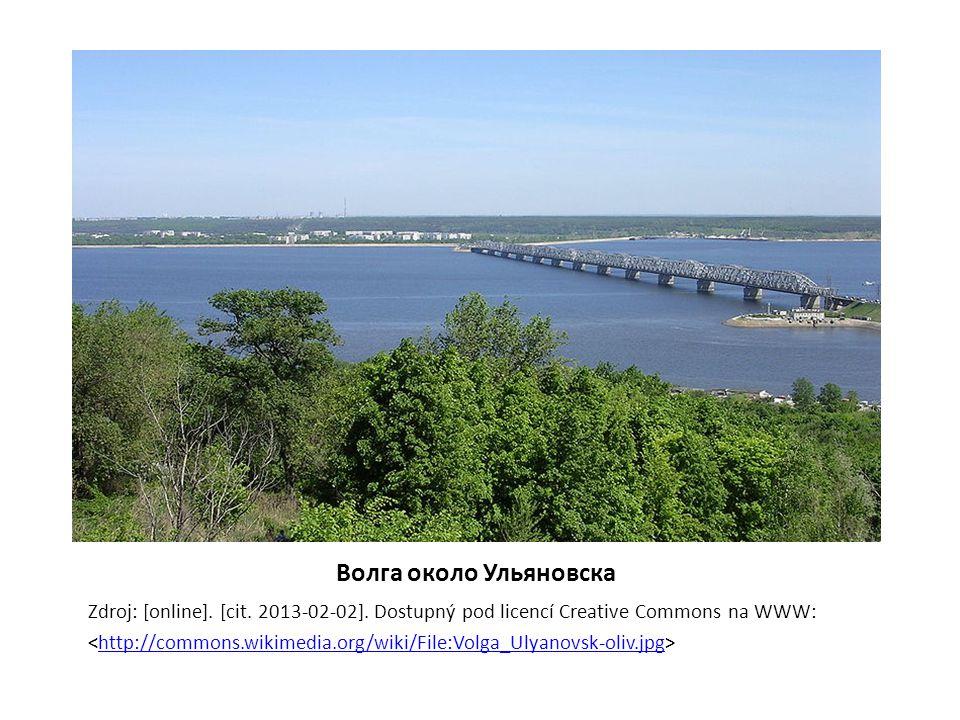 Волга около Ульяновска Zdroj: [online]. [cit. 2013-02-02].