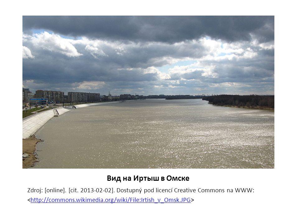 Вид на Иртыш в Омске Zdroj: [online]. [cit. 2013-02-02].