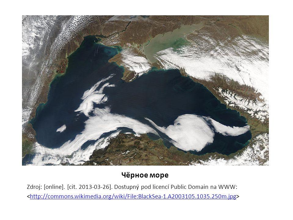 Чёрное море Zdroj: [online]. [cit. 2013-03-26].