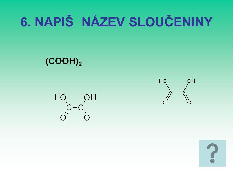 16. Kyselina salicilová Kyselina 2-hydroxybenzoová