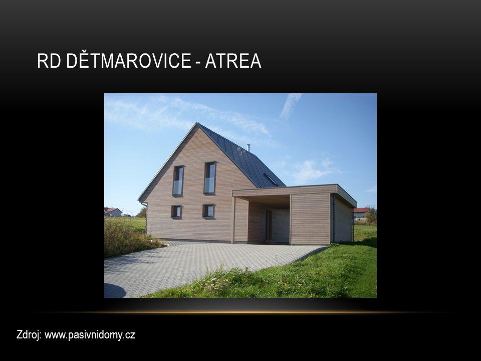 RD DĚTMAROVICE - ATREA Zdroj: www.pasivnidomy.cz