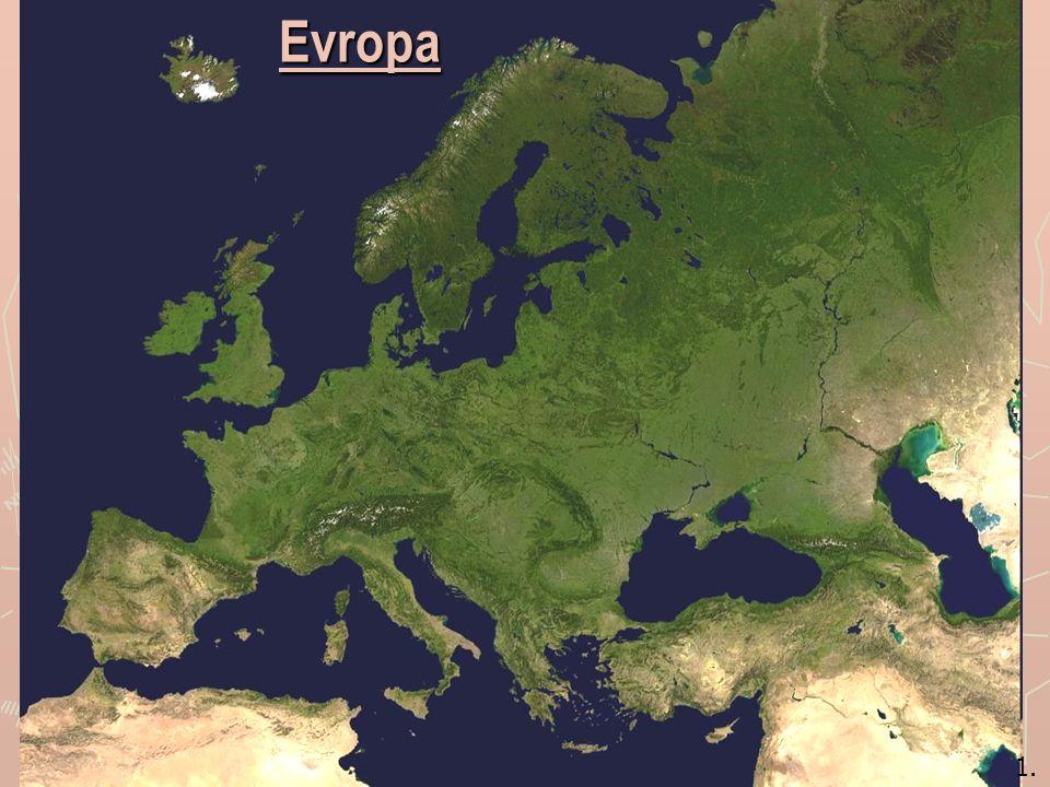 2.nejmenší světadíl - 10,4 mil. km 2 - představuje 7% z rozlohy pevniny.