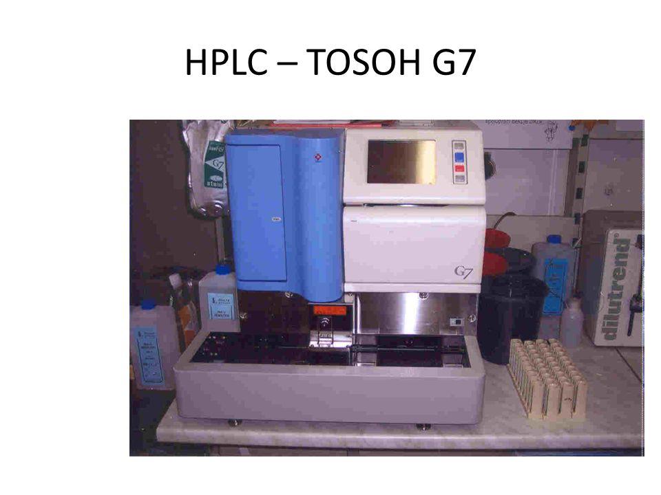 HPLC – TOSOH G7