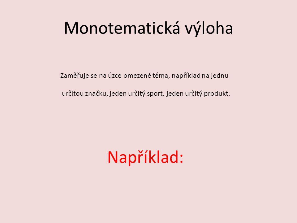 Monotematická
