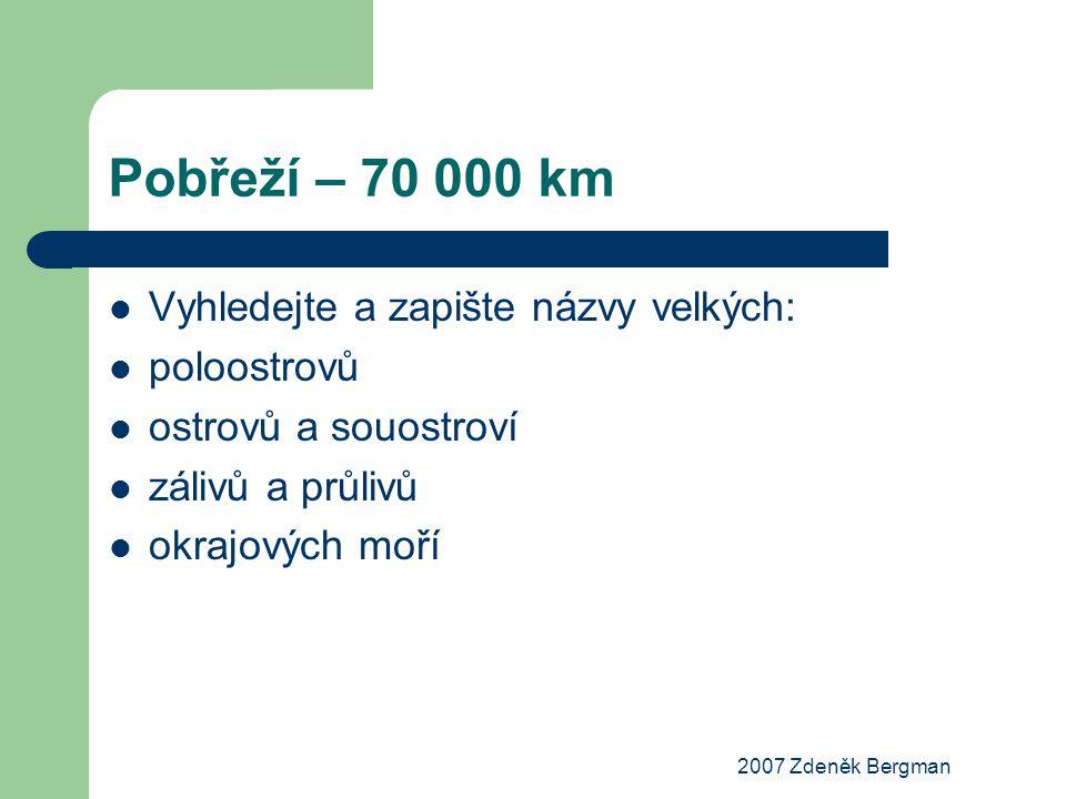 2007 Zdeněk Bergman Jezera Bajkal Kaspické j.Aralské j.