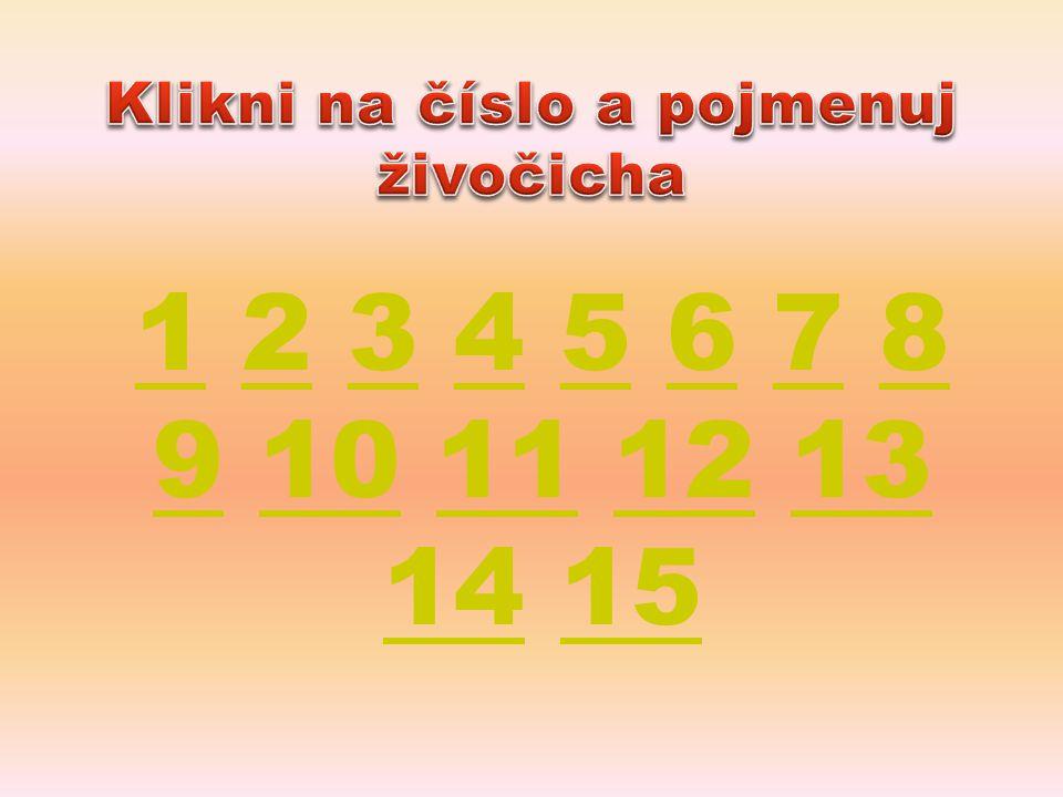 11 2 3 4 5 6 7 8 9 10 11 12 13 14 152345678 910111213 1415