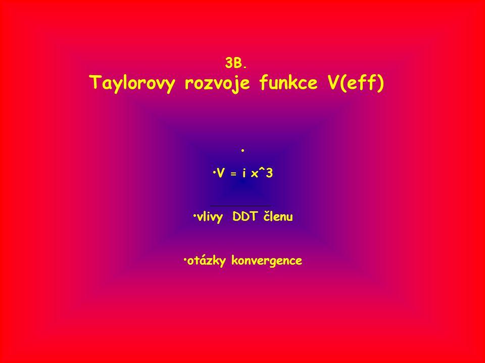 Taylorovy rozvoje energií Rayleigh-Schroedingerův recept některé důsledky nehermitovosti maticová struktura problému