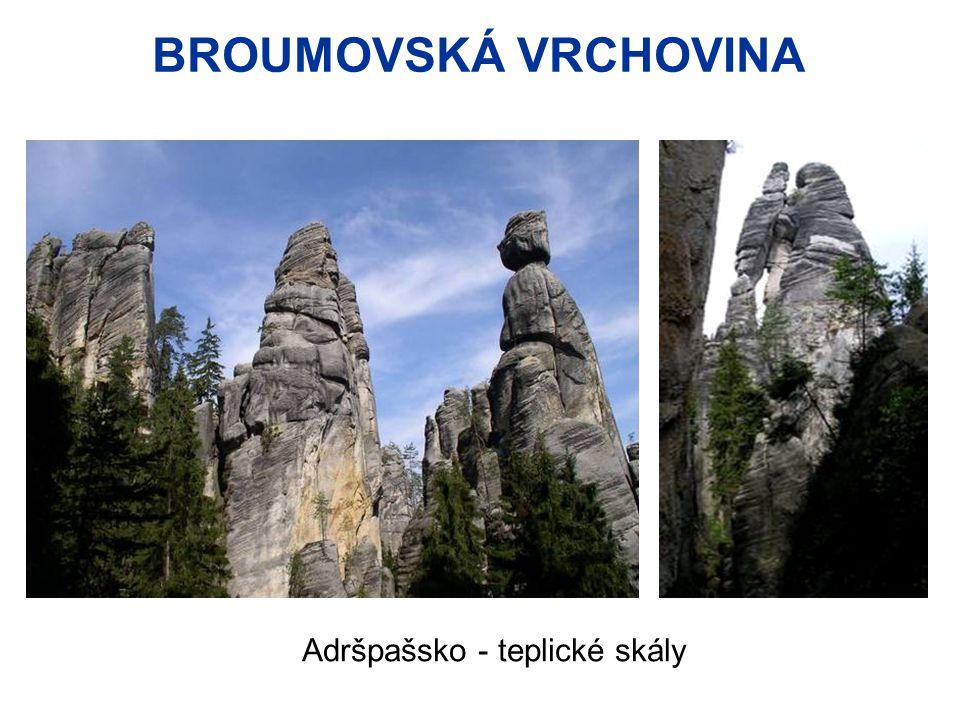 BROUMOVSKÁ VRCHOVINA Adršpašsko - teplické skály
