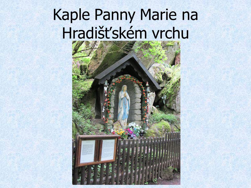 Kaple Panny Marie na Hradišťském vrchu