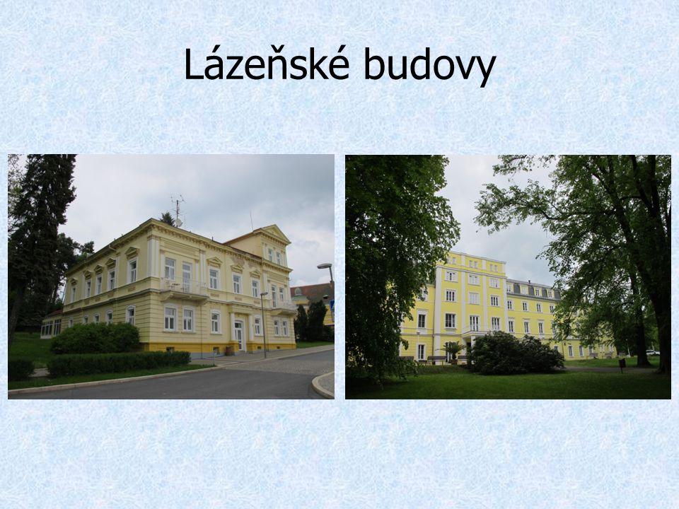 Lázeňské budovy
