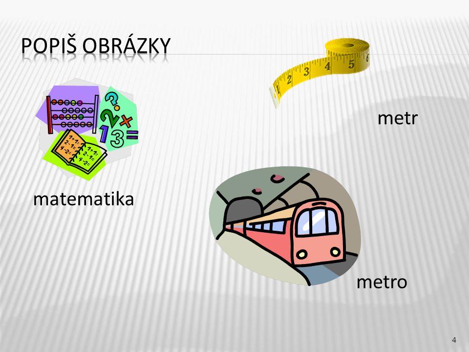 metr 4 matematika metro