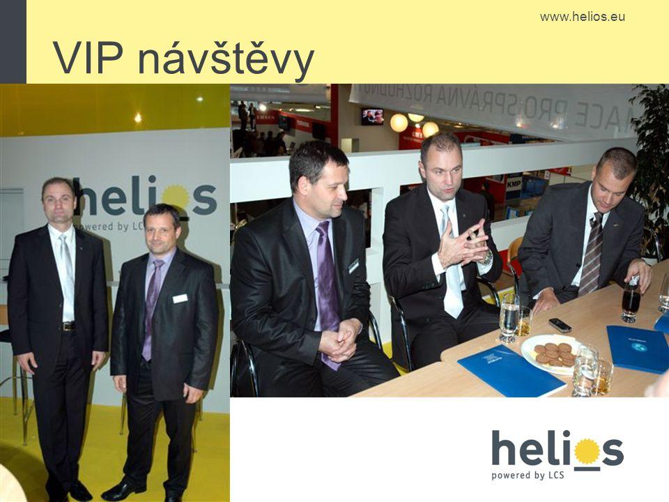www.helios.eu VIP návštěvy