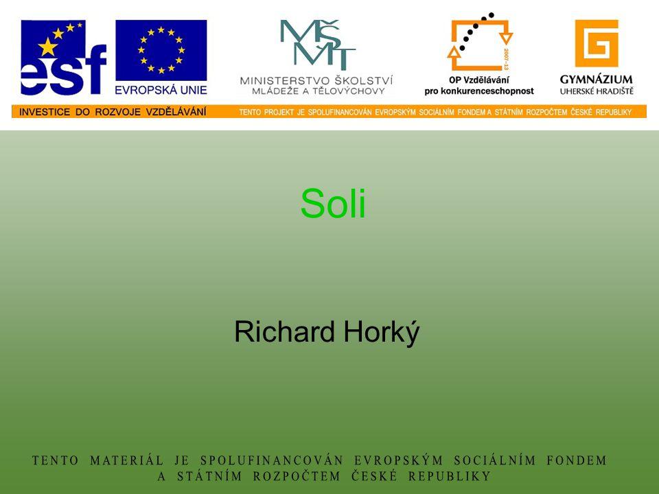 Soli Richard Horký