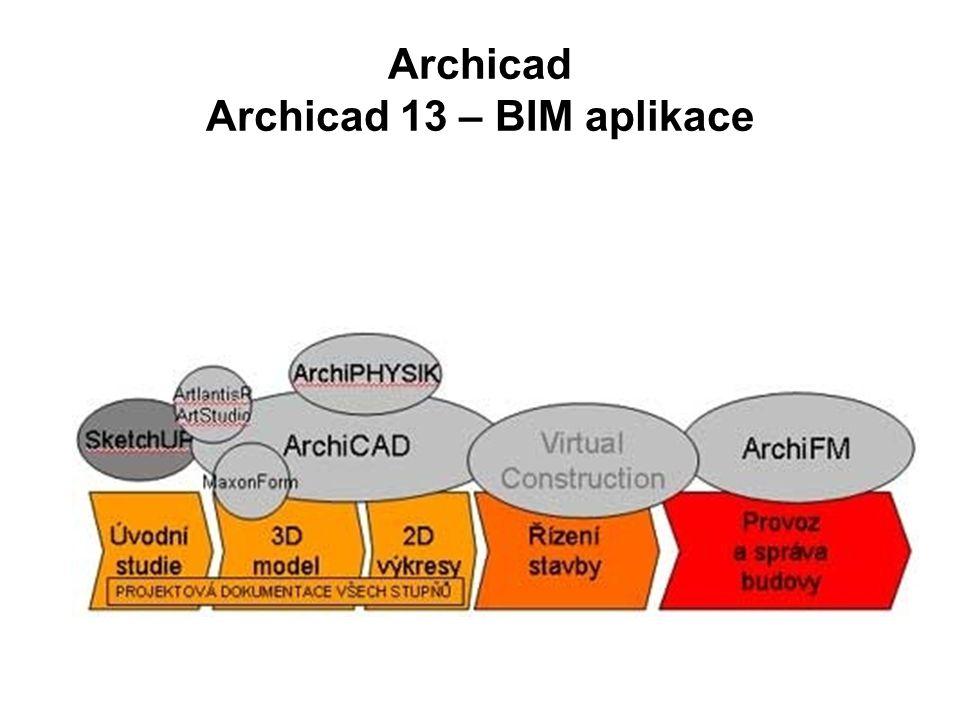 Archicad Archicad 13 – BIM aplikace