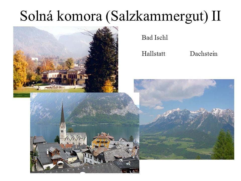 Solná komora (Salzkammergut) II Bad Ischl HallstattDachstein