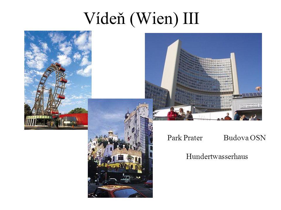 Vídeň (Wien) III Park PraterBudova OSN Hundertwasserhaus