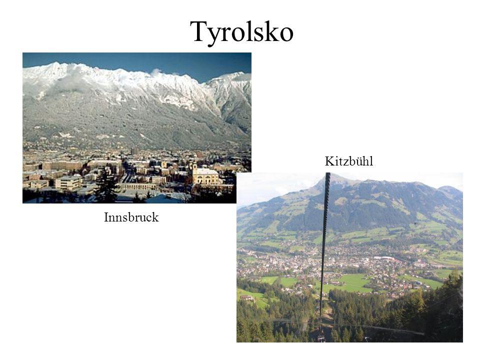 Tyrolsko Innsbruck Kitzbühl