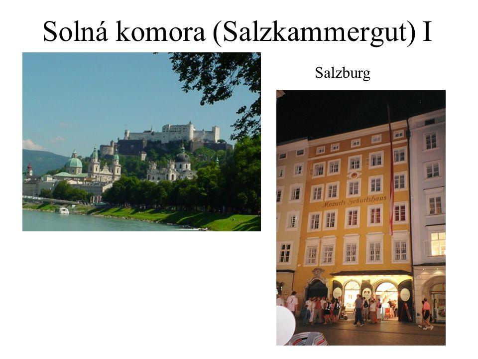 Solná komora (Salzkammergut) I Salzburg