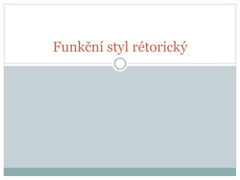 Funkční styl rétorický