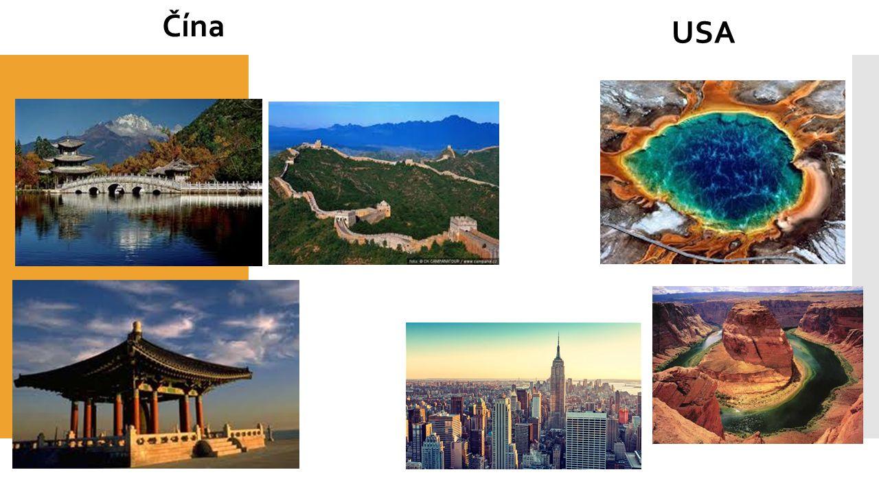 Čína USA