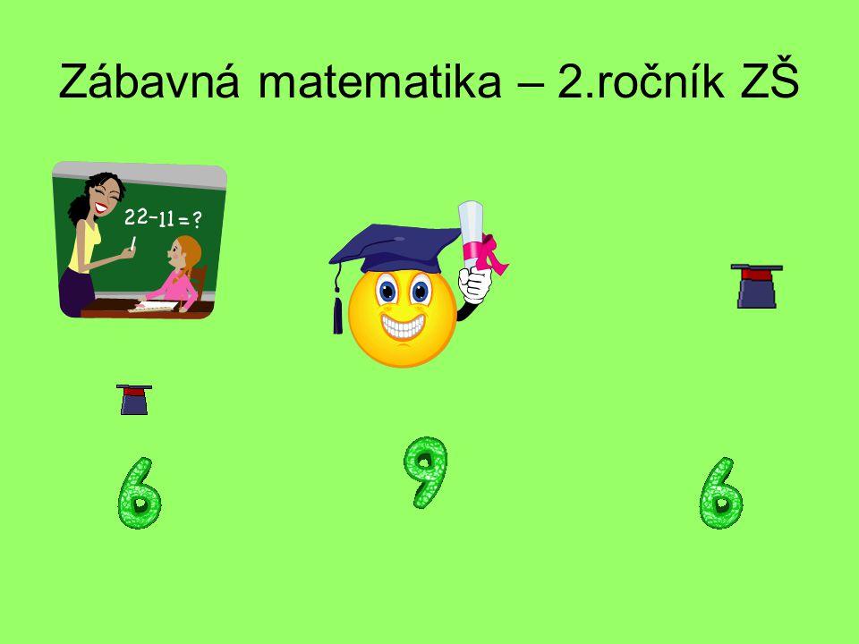 Zábavná matematika – 2.ročník ZŠ