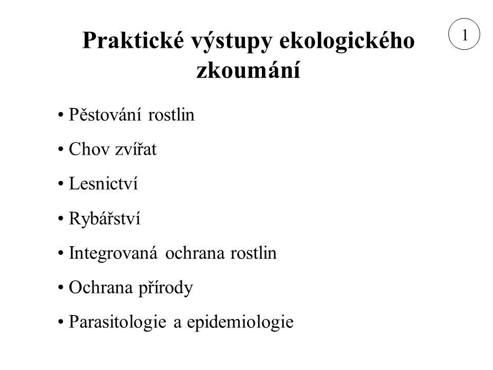 Vznik ekologie jako vědy E.Haeckel (1834-1919) – první definice 1866 K.
