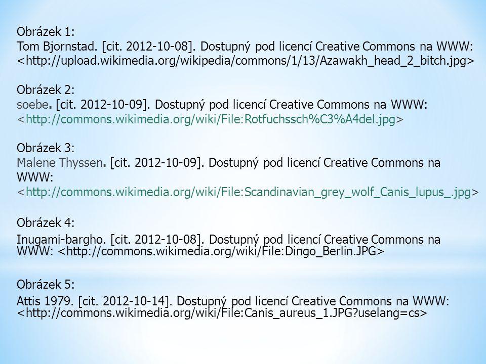 Obrázek 1: Tom Bjornstad. [cit. 2012-10-08]. Dostupný pod licencí Creative Commons na WWW: Obrázek 2: soebe. [cit. 2012-10-09]. Dostupný pod licencí C