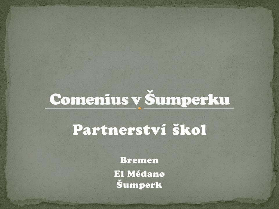 Partnerství škol Bremen El Médano Šumperk