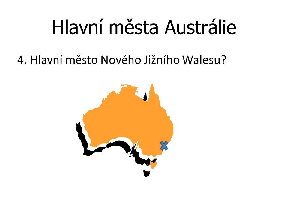 Hlavní města Austrálie 4. Hlavní město Nového Jižního Walesu?