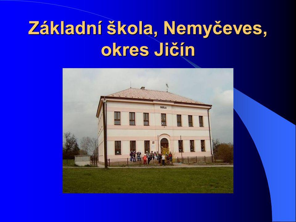 Základní škola, Nemyčeves, okres Jičín
