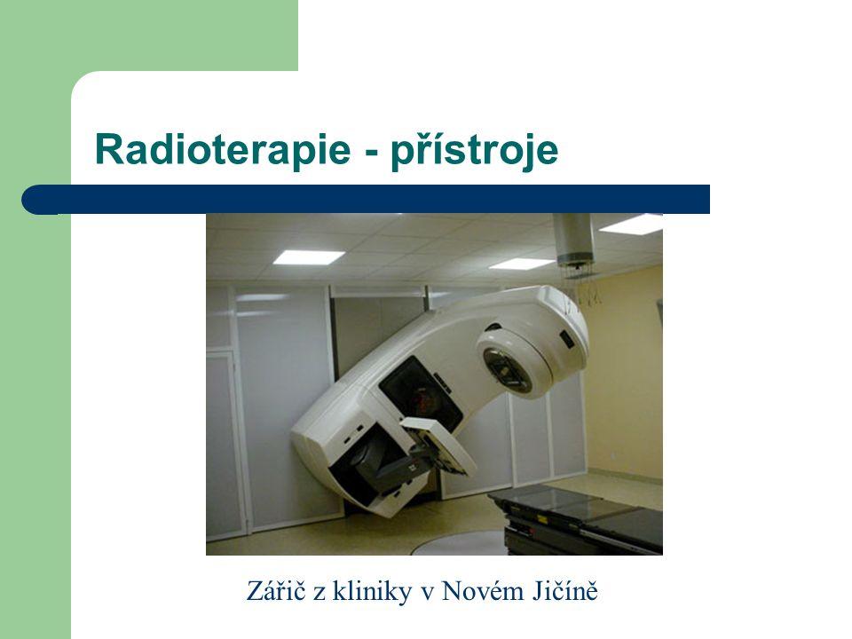 Radioterapie - přístroje Zářič z kliniky v Novém Jičíně