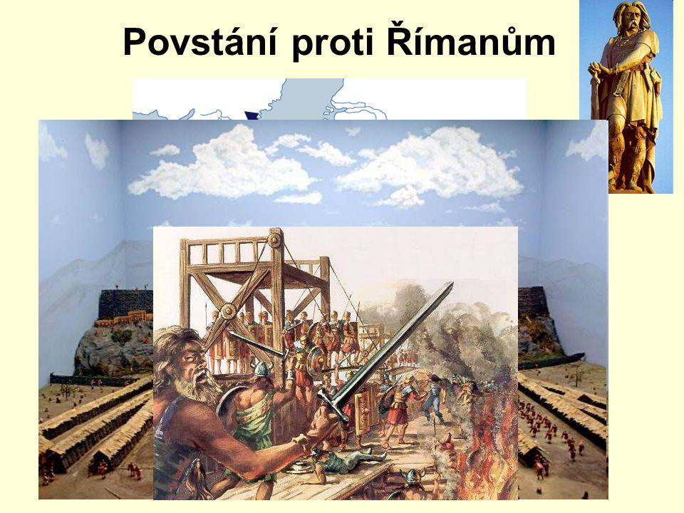 Povstání proti Římanům Avaricum