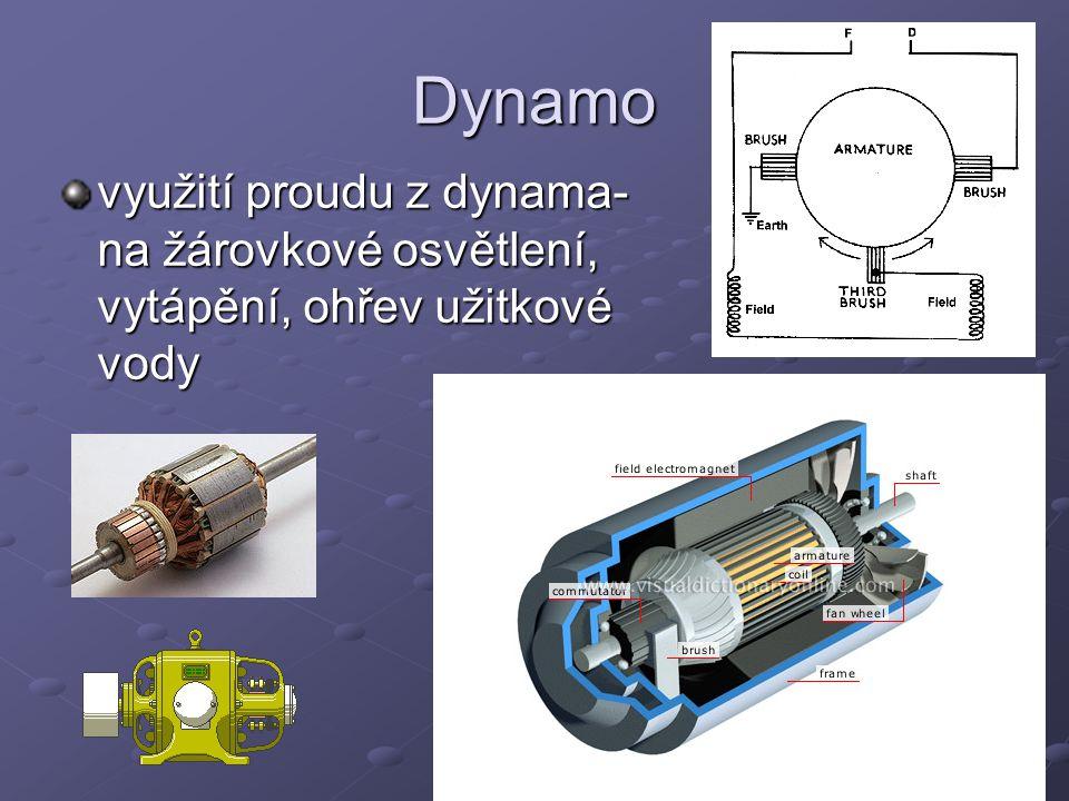 Alternátor elektrický stroj přeměňující mechanickou energii na elektrickou zdroj střídavého napětí Dělí se podle typu rotoru na alternátory: - s hladkým rotorem (turboalternátory) - s vyniklými póly (hydroalternátory)