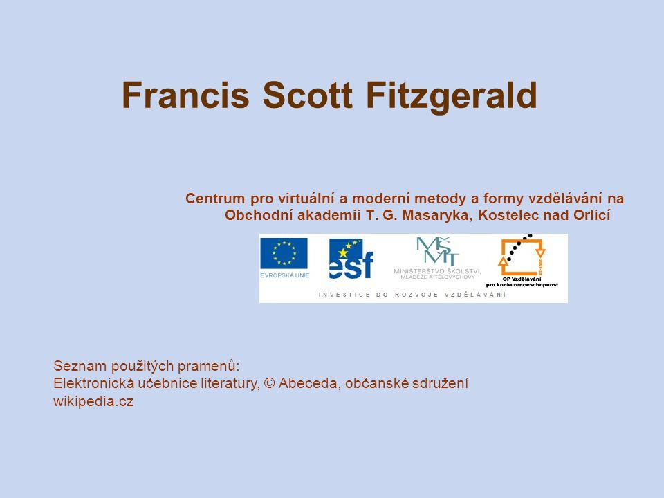 Francis Scott Fitzgerald Centrum pro virtuální a moderní metody a formy vzdělávání na Obchodní akademii T. G. Masaryka, Kostelec nad Orlicí Seznam pou