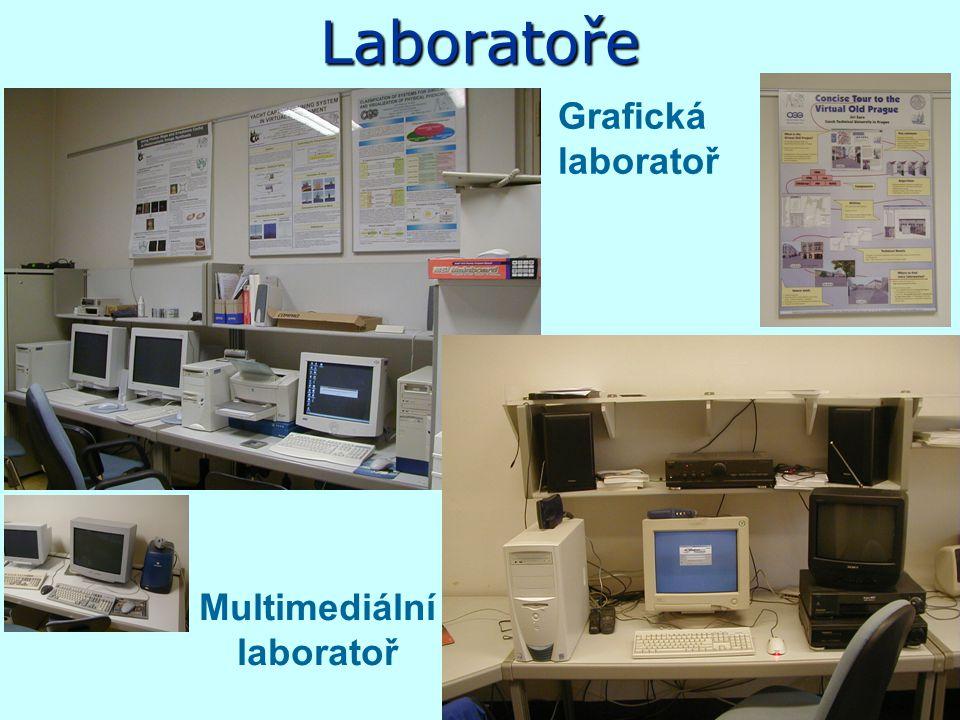 Učebny Laboratoř pro výuku Javy