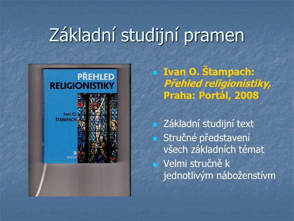 Základní studijní pramen Ivan O.