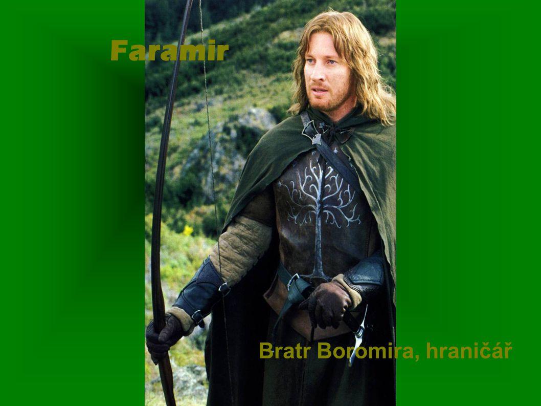 Faramir Bratr Boromira, hraničář