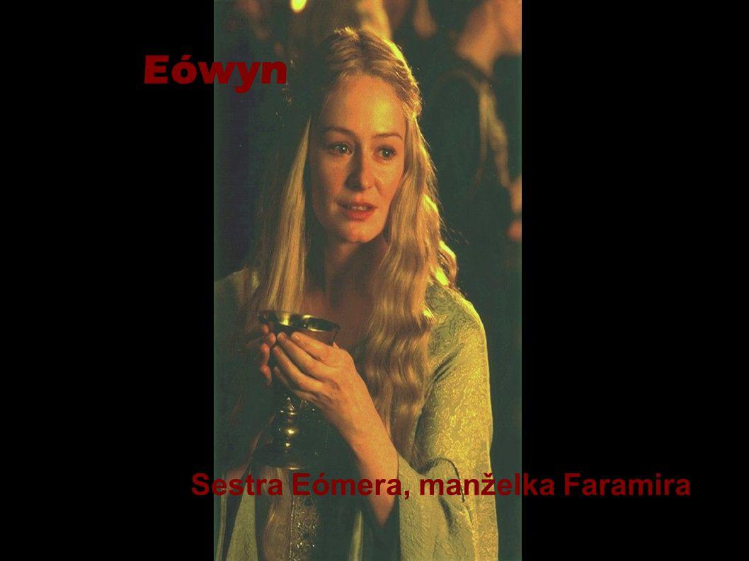Eówyn Sestra Eómera, manželka Faramira