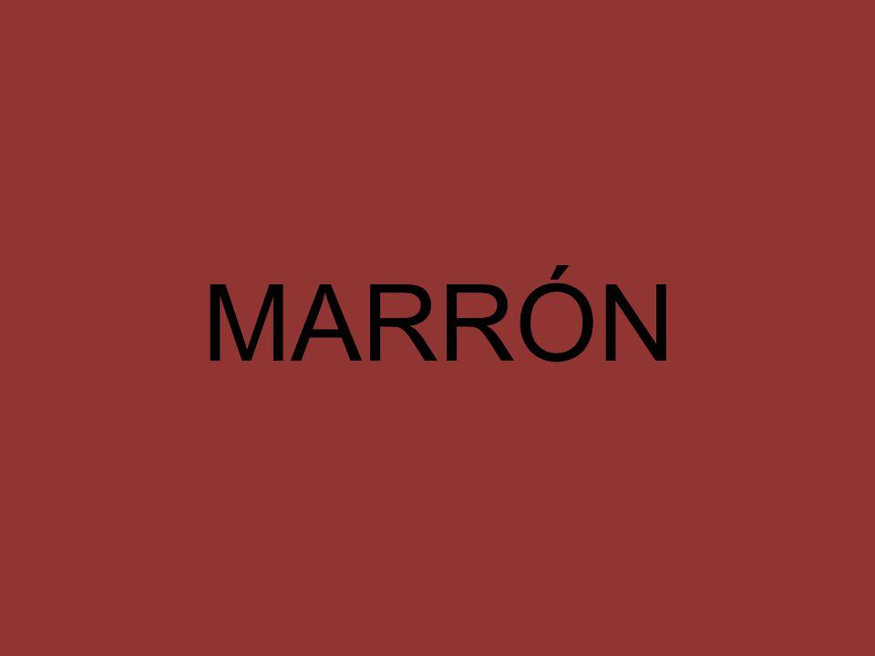 MARRÓN