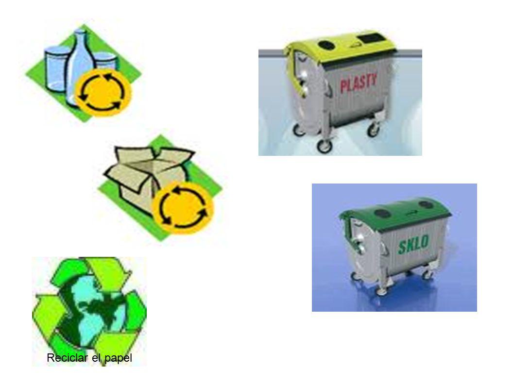 Reciclar el papel