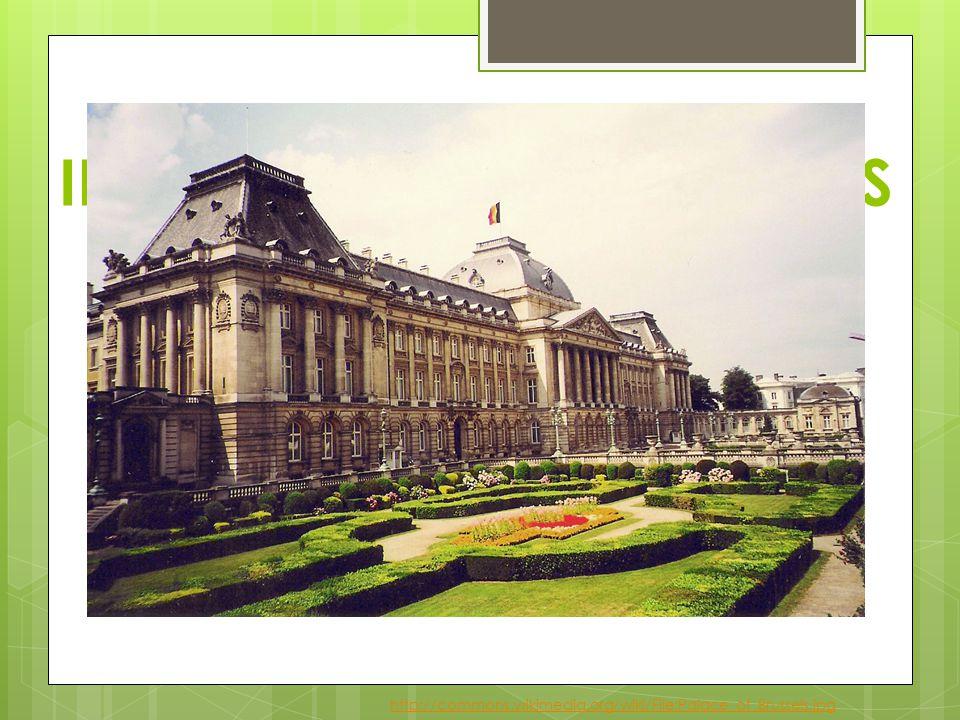 INFORMATIONS GÉNÉRALES  chef de l' État: Roi Albert II  capitale: Bruxelles  populations: 10,3 millions d' habitants  superficie: 31 000 km²  monnaie: EURO  laugues officielles: flamand, français, allemand http://commons.wikimedia.org/wiki/File:Palace_of_Brussels.jpg