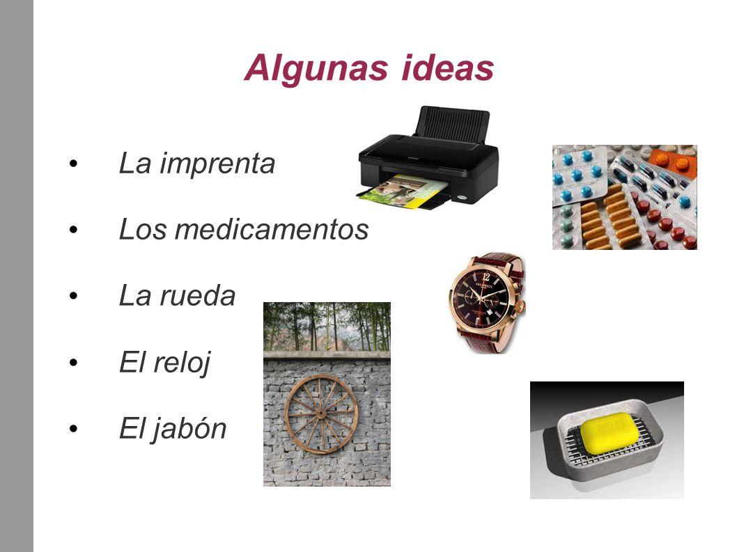 La lata de conserva El microscopio La brújula El calendario Las cerillas