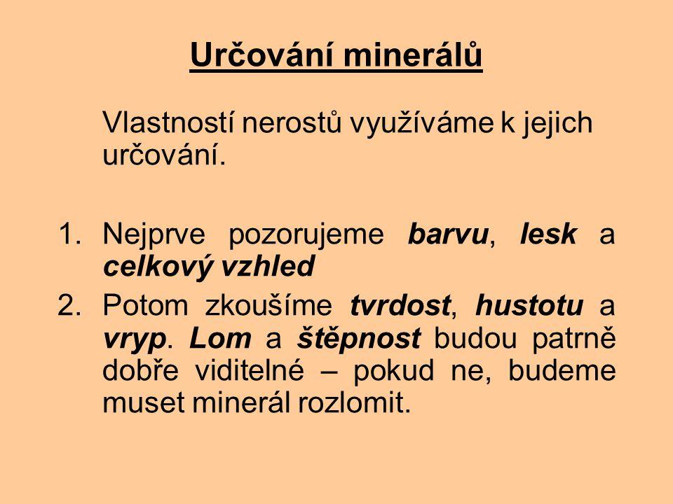 Zdroje informací Kvasničková, D.a kol.: Ekologický přírodopis pro 9.ročník ZŠ.