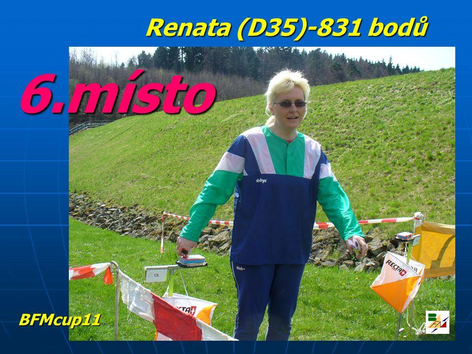 6.místo Renata (D35)-831 bodů BFMcup11