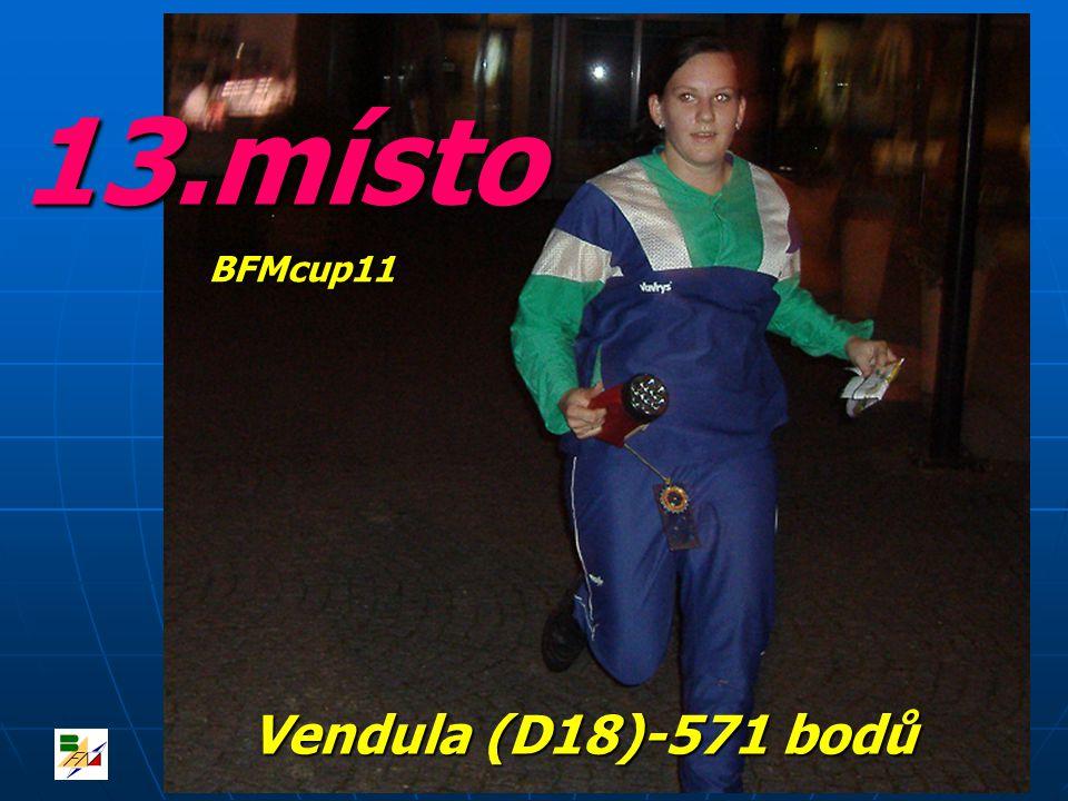 13.místo Vendula (D18)-571 bodů BFMcup11