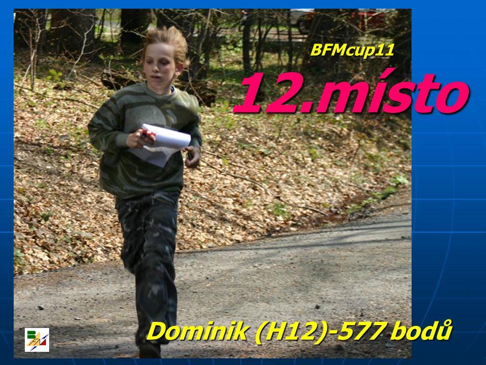 12.místo Dominik (H12)-577 bodů BFMcup11